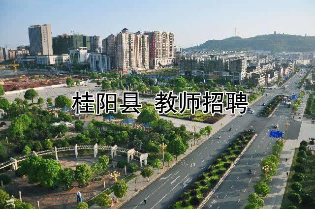 2019年桂阳县公开招聘教师公告